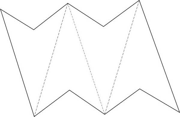 Звёзды из бумаги своими руками шаблоны 505