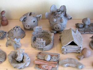 Поделки глины своими руками фото